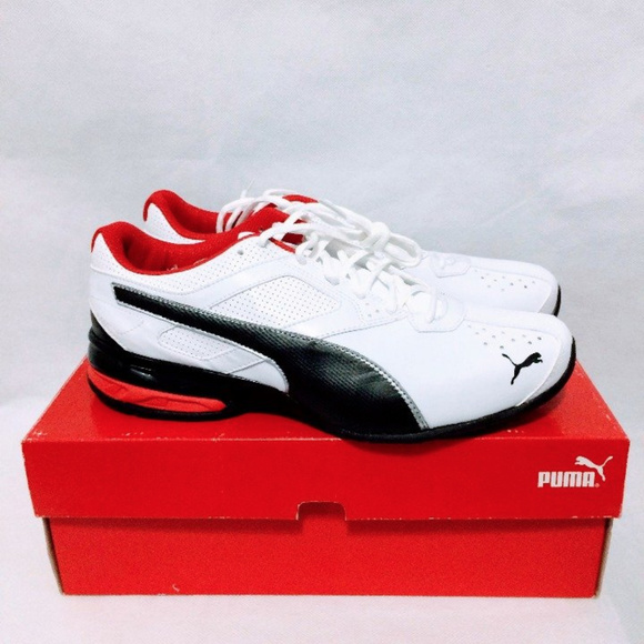 6c8038d2d9228a Puma Tazon 6 FM Men s Running Shoes White-Black